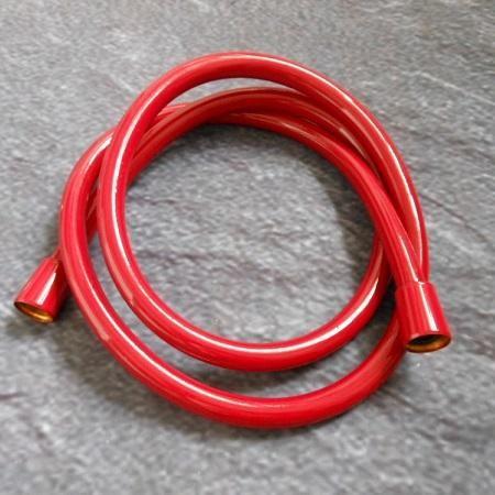 HansGrohe Isiflex zuhanycső / zuhany géegecső 1,60 m / 160 cm DN15 / 28276430 / 28276 430, piros színű