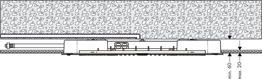 HansGrohe Raindance Rainmaker 680 mm x 460 mm DN15 / króm / 28417000 / 28417 000