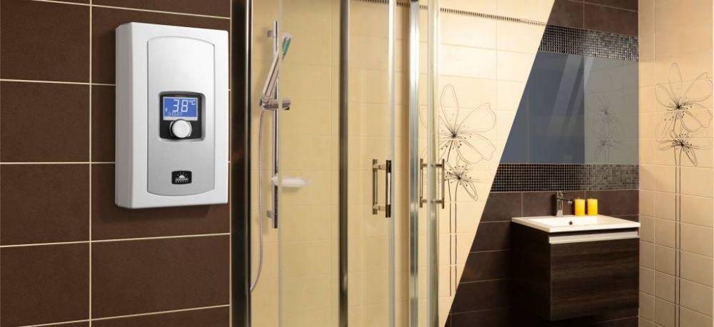 RADECO / KOSPEL EPME electronic LCD 5,5-9,0 kW-os mosdó vagy mosogató alá szerelhető átfolyós rendszerű elektromos vízmelegítő