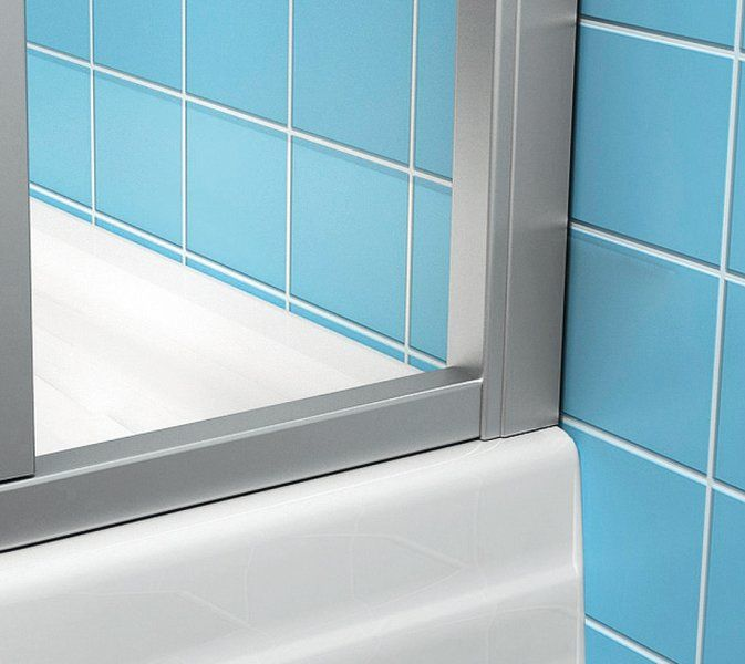RAVAK SUPERNOVA SDZ3-100 háromrészes, befelé nyíló zuhanyajtó fehér kerettel / PEARL műanyag / plexi betétlemezzel, 100 cm-es / 02VA010011