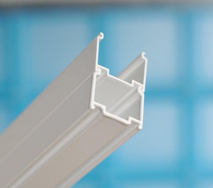 RAVAK SUPERNOVA SDZ3-100 háromrészes, befelé nyíló zuhanyajtó fehér kerettel / GRAPE edzett biztonsági üveggel, 100 cm-es, 02VA0100ZG