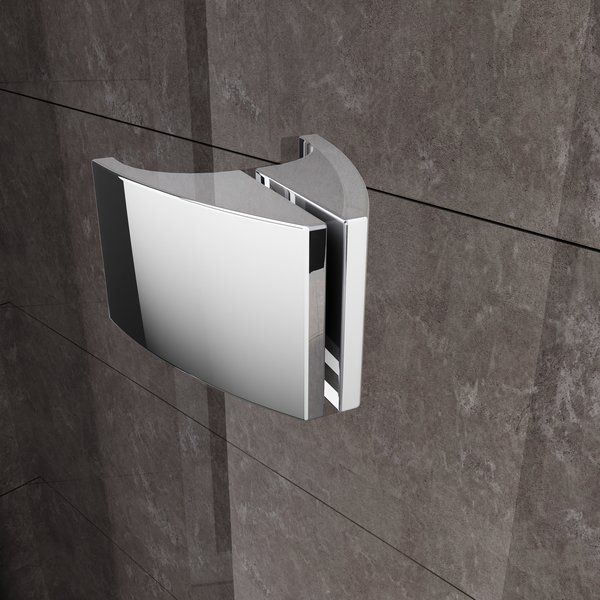 RAVAK Pivot PDOP2-110 kétrészes kifelé nyíló zuhanyajtó  fehér kerettel / TRANSPARENT edzett biztonsági üveggel 110 cm / 03GD0100Z1