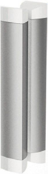 RAVAK Rapier NRDP2-110 Toló rendszerű kétrészes, jobbos zuhanyajtó fehér kerettel / GRAPE edzett biztonsági üveggel  110 cm / 0NND010PZG