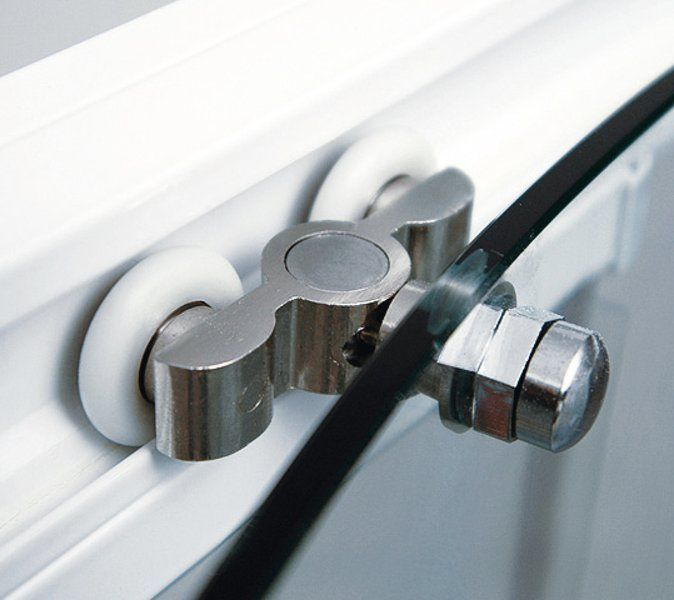 RAVAK Rapier NRDP4-130 Négyrészes, csúsztatható zuhanyajtó szatén kerettel / TRANSPARENT edzett biztonsági üveggel  130 cm / 0ONJ0U00Z1