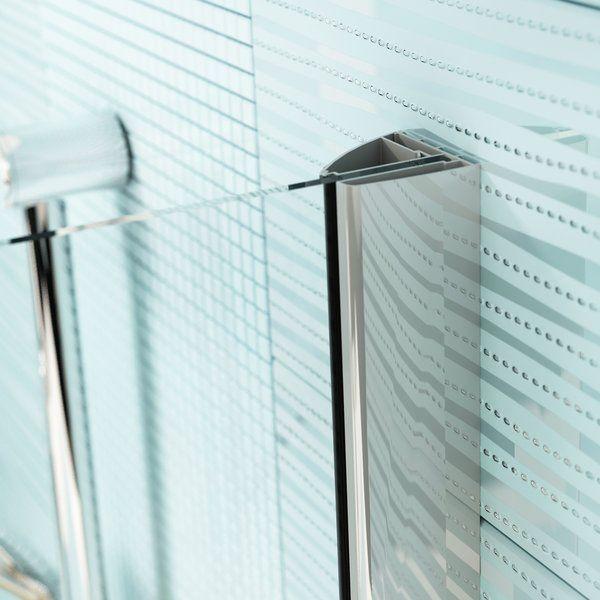 RAVAK SmartLine SMSD2-110 A Kételemes balos zuhanyajtó króm zsanérral / TRANSPARENT edzett biztonsági üveggel 110 cm / 0SLDAA00Z1