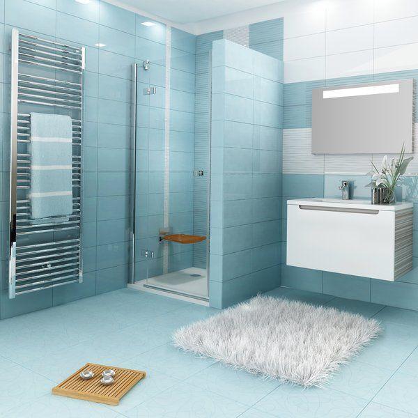 RAVAK SmartLine SMSD2-120 A Kételemes jobbos zuhanyajtó króm zsanérral / TRANSPARENT edzett biztonsági üveggel 120 cm / 0SPGAA00Z1