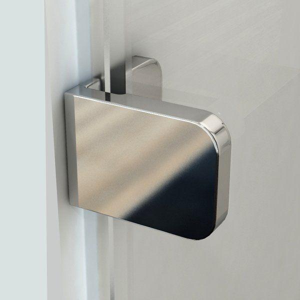 RAVAK Brilliant BSDPS-80 Jobbos zuhanykabin fix fallal + B SET / króm kerettel / TRANSPARENT edzett biztonsági üveggel 80 cm / 0UP44A00Z1 + D01000A075