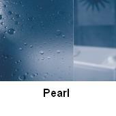 RAVAK SUPERNOVA sarokbelépős zuhanykabin ASRV3-75, fehér kerettel / PEARL betéttel, háromelemes tolórendszerű ajtóval, 75 cm / 15V3010211