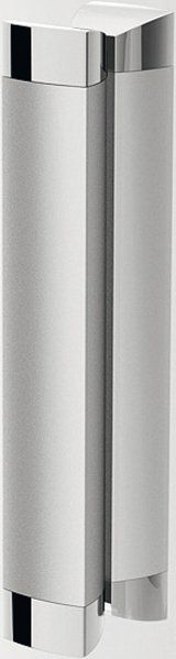 RAVAK Rapier NRKRV2-100 Négyrészes, szögletes, sarokbelépős, toló rendszerű zuhanykabin szatén kerettel / TRANSPARENT edzett biztonsági üveggel  100 cm / 1ANA0U00Z1