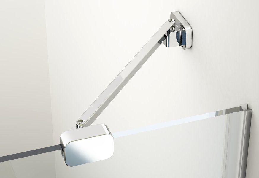 RAVAK Brilliant BSKK4-100 négyrészes, negyedköríves zuhanykabin + B SET / króm kerettel / TRANSPARENT edzett biztonsági üveggel / 3U2AAA00Y1 + D01000A074