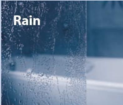 RAVAK SUPERNOVA AVDP3-150 háromrészes tolórendszerű kádparaván, szatén kerettel / RAIN műanyag (plexi) betétlemez, 150 cm-es / 40VP0U0241