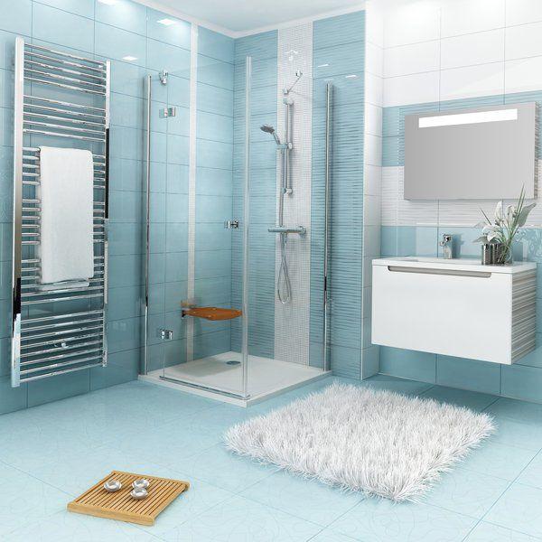 RAVAK SmartLine SMPS 90 Fix balos oldalfal SMSD2 zuhanyajtóval való kombinálásra króm zsanérral / TRANSPARENT edzett biztonsági üveggel 90 cm / 9SL70A00Z1