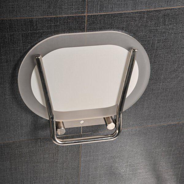 RAVAK CHROME,Zuhanykabin ülőke CLEAR/STAINLESS/ B8F0000029
