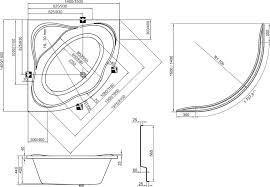RAVAK KÁD NewDay / NEW DAY / akrilkád / sarokkád 150x150 cm-es / C661000000