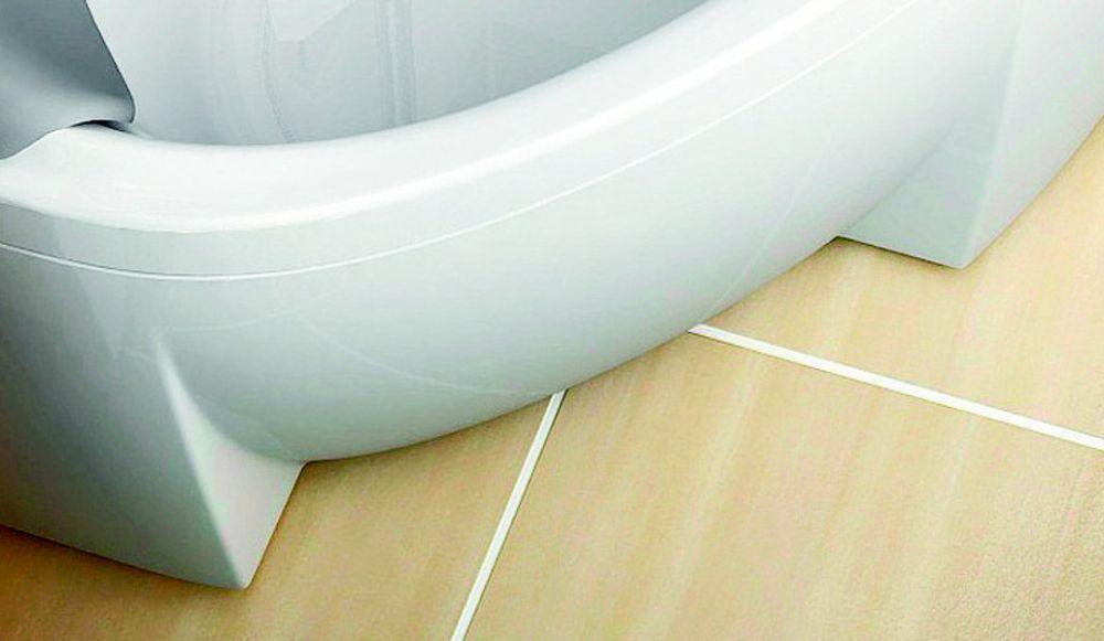 RAVAK Rosa II Aszimmetrikus akrilkád / kád, balos, 150 x 105 cm-es, fehér, CK21000000