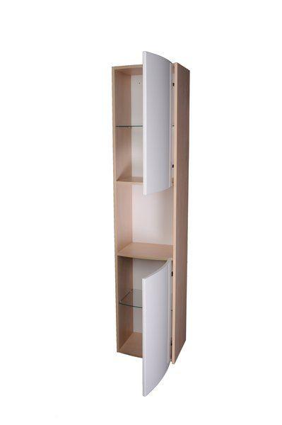 RAVAK SB Uni Praktik, Rosa oldalsó oszlop (nyír/fehér) / Cikkszám: X000000166