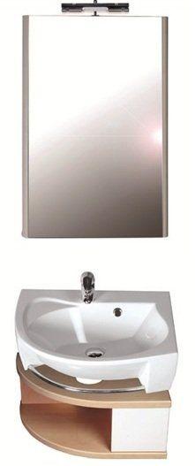 RAVAK SDU Rosa szekrény mosdó alá, jobbos (fehér/fehér) / Cikkszám: X000000327