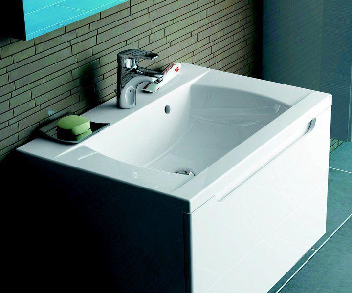 RAVAK SD 600 Classic szekrény a mosdó alá (fehér/fehér) / Cikkszám: X000000347