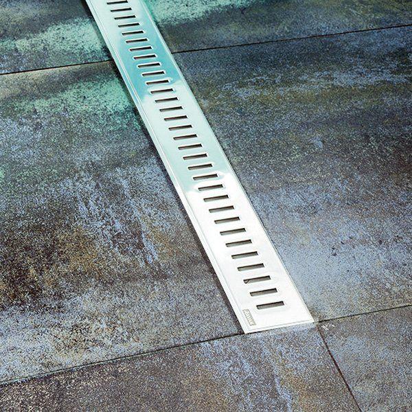 Ravak ZEBRA 850 OZP zuhanyfolyóka - műanyag lefolyóval és rozsdamentes acél ráccsal, cikkszám: X01434