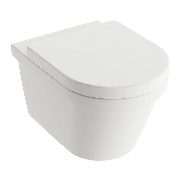 RAVAK Chrome fali wc-hez lecsapódásgátlós / Soft Close wc ülőke, cikkszám: X01451
