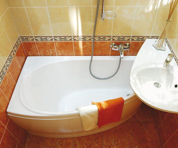 RAVAK AVOCADO mosdó öntött, műmárvány, balos / bal, furattal, 850x450 mm / 85x45 cm /, fehér cikkszám: XJ1L1100000
