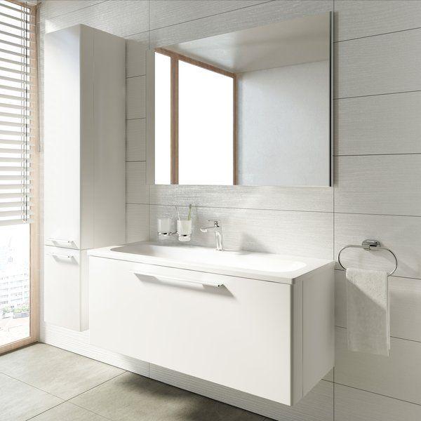 RAVAK Ring 1000 mosdó fehér nyílással, 1000 x 380 cm-es / XJK01110000