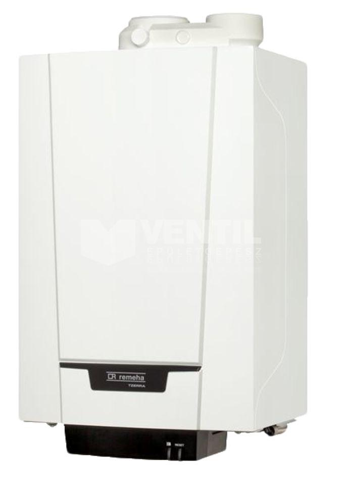Remeha Tzerra Plus M 28C kondenzációs kombi gázkazán, fali  kazán, ERP, 24 kW-os (23,4 kW), 7625058