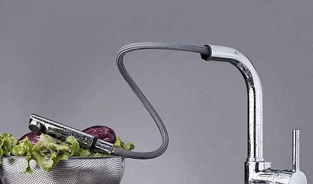 TEKA ARES ARK 938 álló mosogató csaptelep, kihúzható fejjel, króm, 23.938.12.00 / 239381200