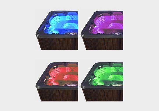 VITAL SPA DeLuxe LED világítás / színterápia masszázsmedencéhez / jakuzzihoz