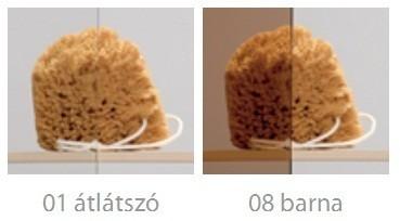 RADAWAY Carena PNJ B kádparaván 70x150 / 01 átlátszó üveg / Balos / 202101-101L