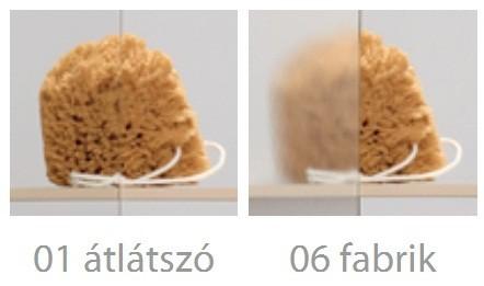 RADAWAY Vesta DW 170 kádparaván / tolóajtó / 170x150 / 06 fabrik üveg / 203170-06