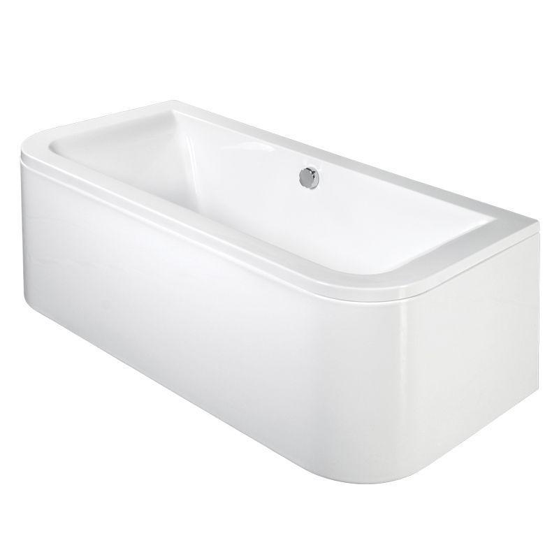 M-Acryl PRINCESS 180x85 akril kád  + Comfort 6+4+2 vízmasszázs, pneumatikus vezérléssel