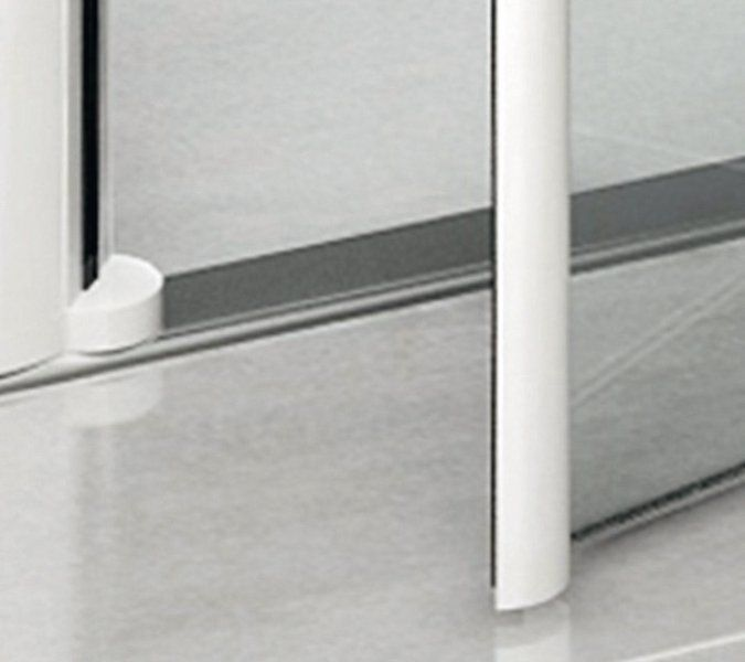 RAVAK Elegance ESKPS-80 Kétrészes balos zuhanykabin fix oldallal króm kerettel / TRANSPARENT edzett biztonsági üveggel 80 cm / 1ML40A00Z1