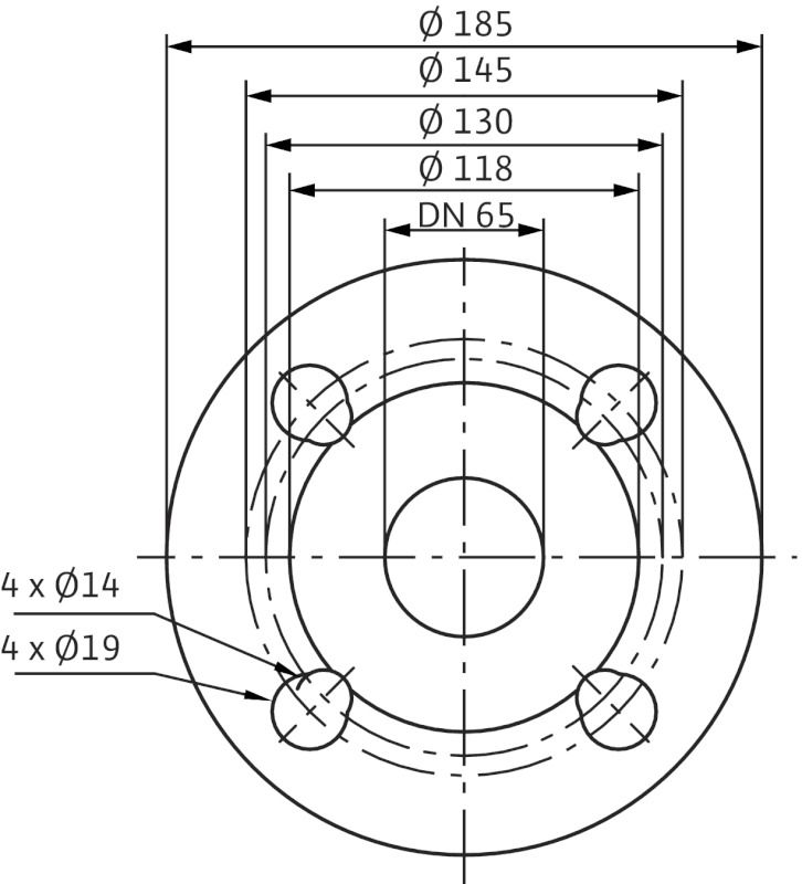 WILO Stratos-D 65/1-12 Nedvestengelyű fűtési keringető szivattyú / 2090468