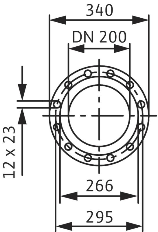 WILO CronoTwin DL 200/335-37/4 Száraztengelyű szivattyú in-line kivitelben / 2132785