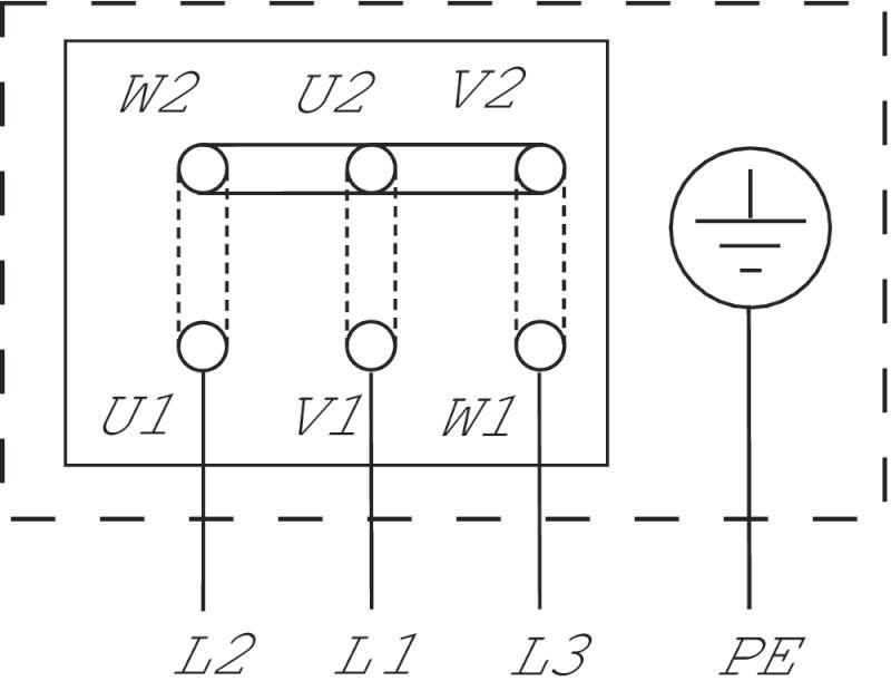 WILO VeroLine IPs 40 GRD PN6 Csavarzatos vagy karimás csatlakozású, inline kivitelű száraztengelyű szivattyú / 121347590