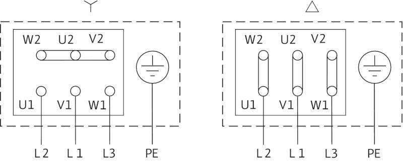 WILO VeroLine IPH-O 32/125-0,18 /4 Karimás csatlakozású, inline kivitelű száraztengelyű szivattyú / 4089399