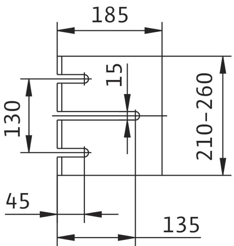 WILO CronoBloc BL 50/120-3/2 Karimás csatlakozású, blokk kivitelű száraztengelyű szivattyú / 2089417