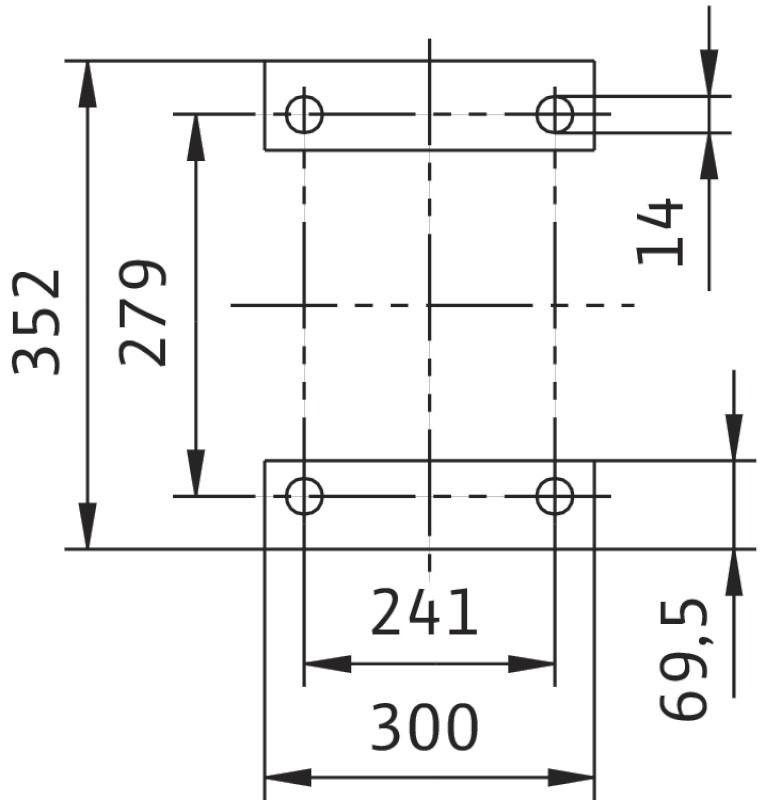 WILO CronoBloc BL 50/220-22/2 Karimás csatlakozású, blokk kivitelű száraztengelyű szivattyú / 2089398