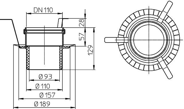 HL840 Tűzvédelmi elem R90, HL311 hez