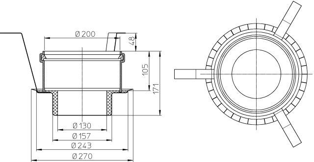HL860 Tűzvédelmi elem R90, HL-Perfekt sorozathoz