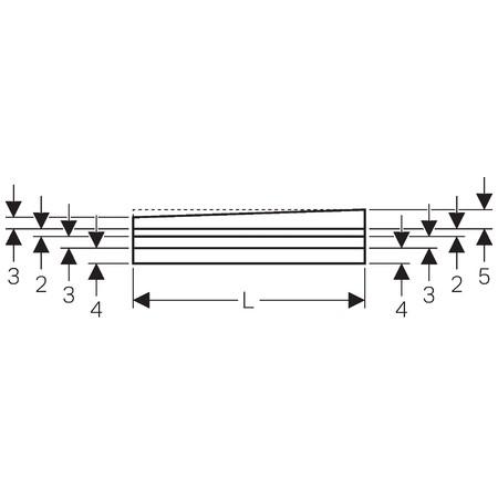 Geberit V-profilú lejtésképző lemez, falsík alatti lefolyóval szerelt épített zuhanyhoz, 100x120 cm / 154.255.00.1 / 154255001