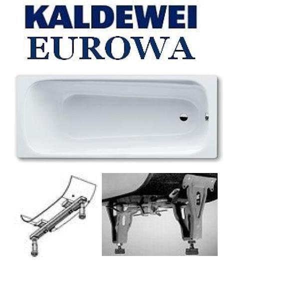 KALDEWEI Eurowa 160x70 cm-es acéllemez kád / lemezkád / fehér 2,3 mm