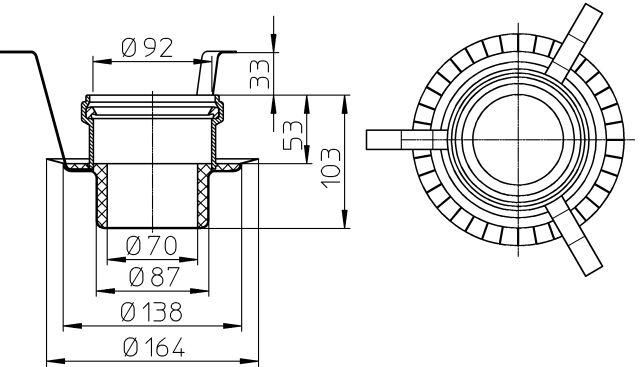 HL830 Tűzvédelmi elem R90, HL511KE hez