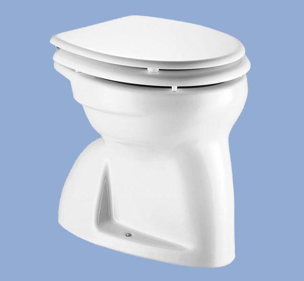 ALFÖLDI BÁZIS / 4004 00 01 / laposöblítésű alsó kifolyású gyerek WC , Fehér színben / 40040001