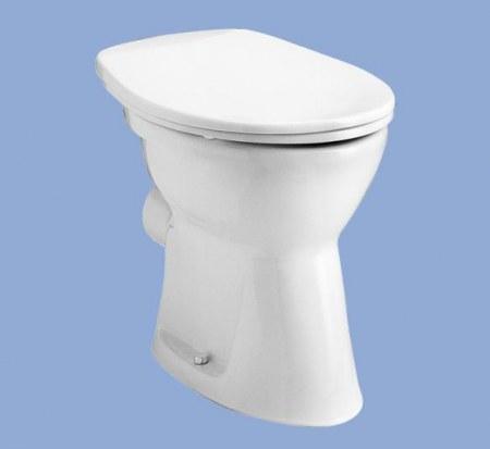 ALFÖLDI BÁZIS / 4030 00 01 / hátsó kifolyású, lapos öblítésű wc csésze, fehér / 40300001