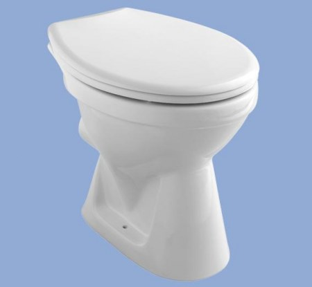 ALFÖLDI BÁZIS / 4031 00 R1 / hátsó kifolyású, mélyöblítésű wc csésze / Easyplus bevonattal / 403100R1