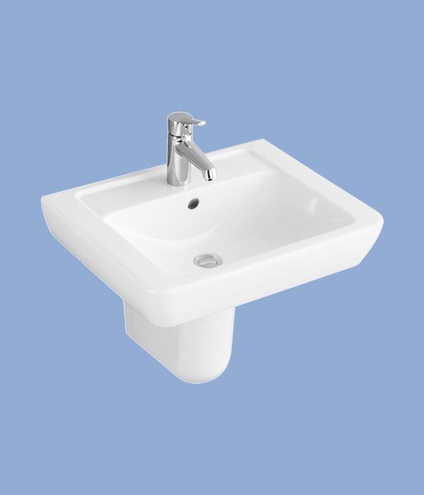 Alföldi Formo Mosdó S, méret: 65x47 cm, cikkszám: 7012 60 01, fehér