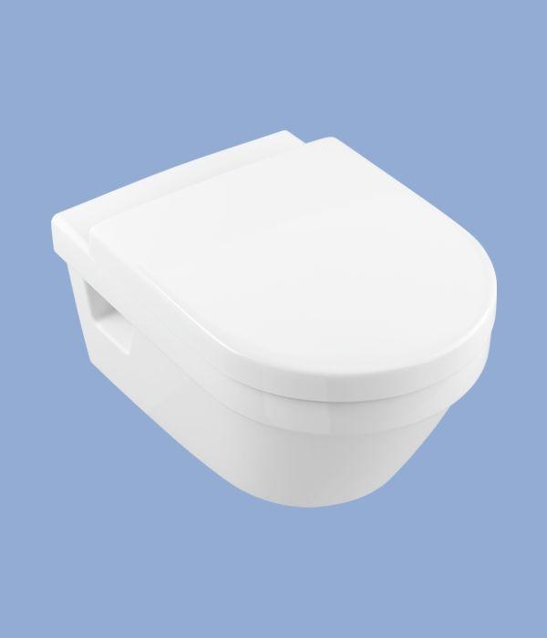 Alföldi Formo mélyöblítésű Fali WC 7060 R0 CleanFlush technológia, méret: 37x53 cm, cikkszám: 7060 R0 01, fehér