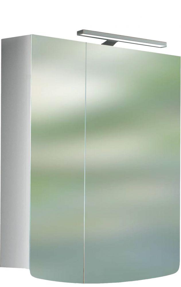 ALFÖLDI SAVAL 2.0 Tükrösszekrény világítással 24,6 x 60 x 77 cm-es A394 60 E4